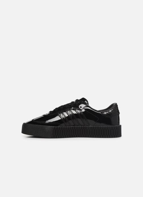 Sneaker adidas originals Sambarose W schwarz ansicht von vorne