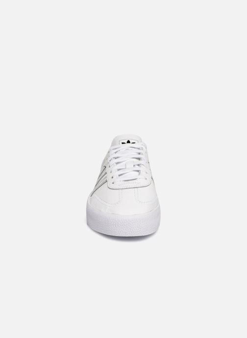 Baskets adidas originals Sambarose W Blanc vue portées chaussures