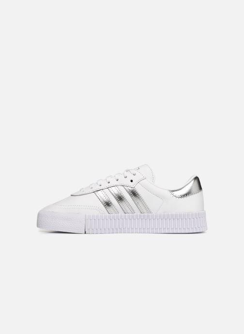 Sneakers adidas originals Sambarose W Bianco immagine frontale