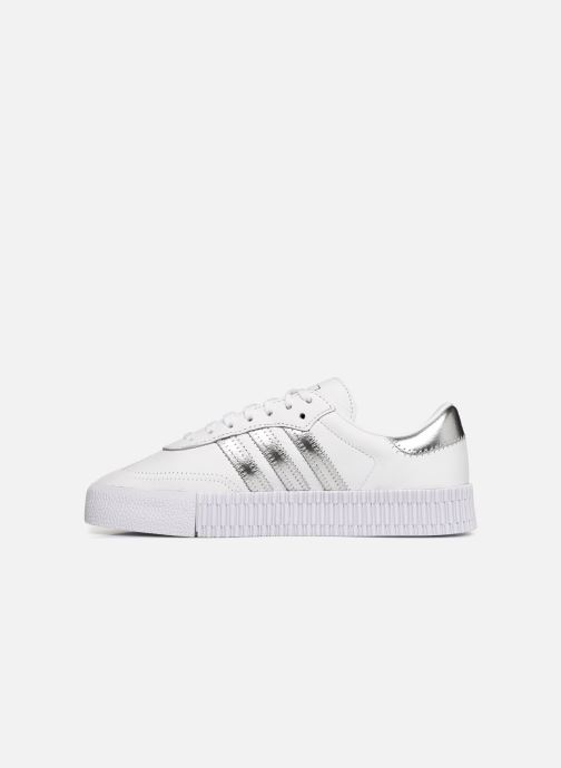 Trainers adidas originals Sambarose W White front view