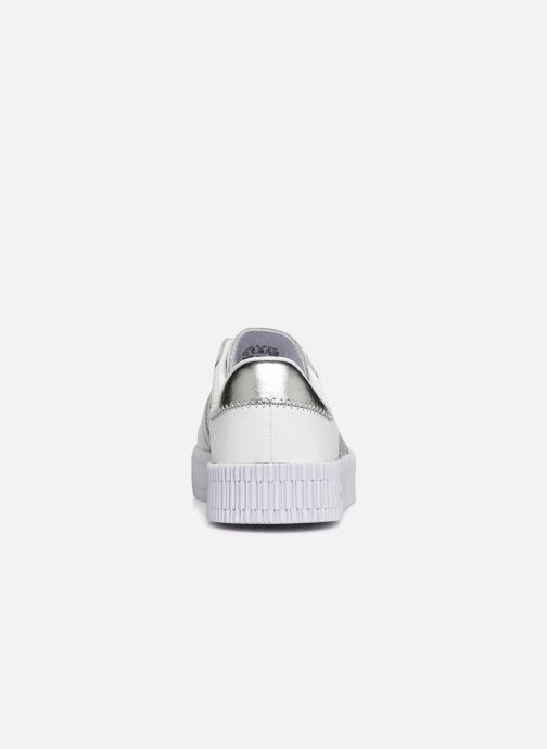Sneaker adidas originals Sambarose W weiß ansicht von rechts