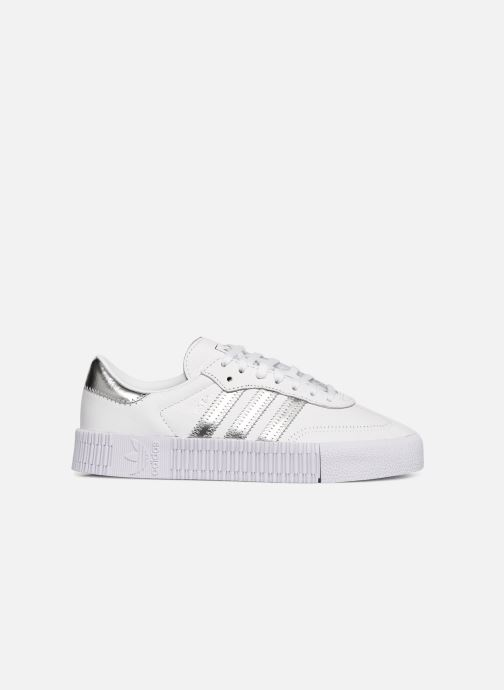 Trainers adidas originals Sambarose W White back view