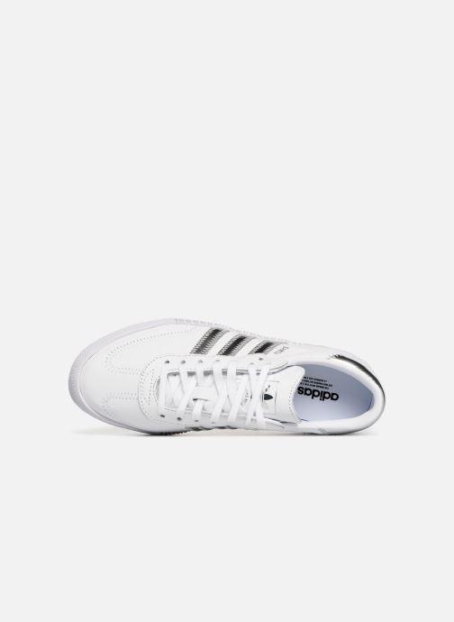 Baskets adidas originals Sambarose W Blanc vue gauche