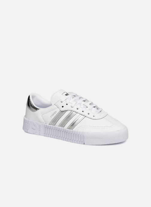 Trainers adidas originals Sambarose W White detailed view/ Pair view