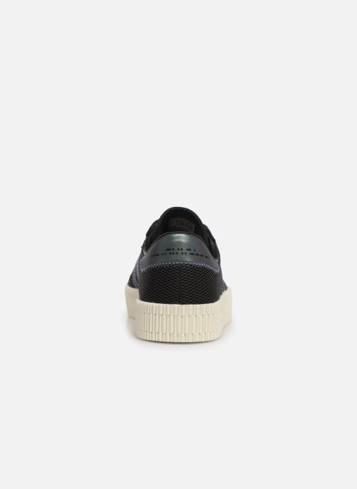 Trainers adidas originals Sambarose W Black view from the right