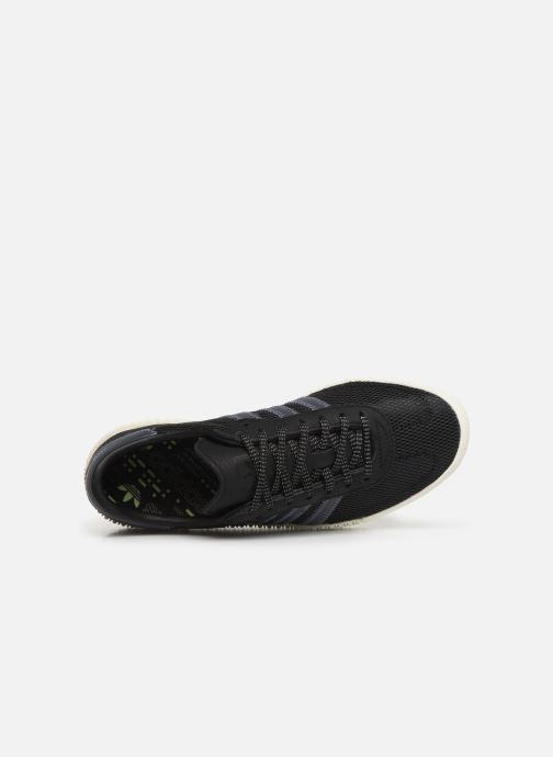 Trainers adidas originals Sambarose W Black view from the left