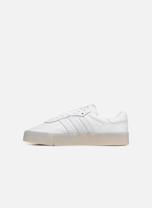 Sneaker Adidas Originals Sambarose W weiß ansicht von vorne