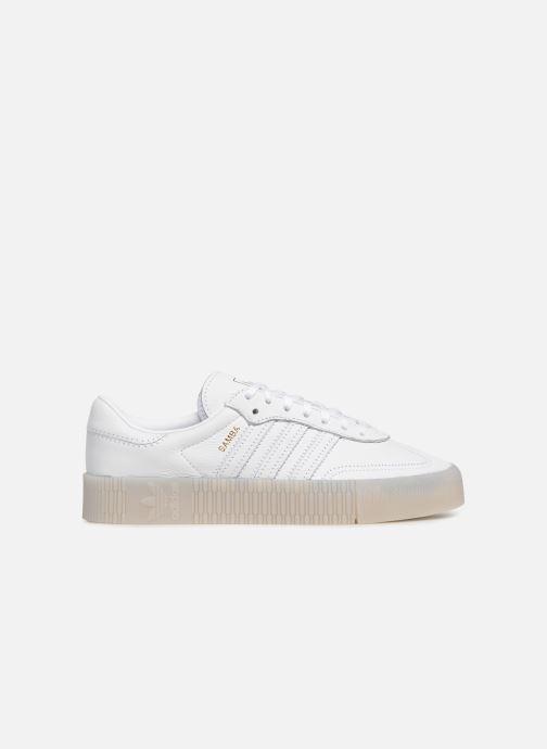 Sneaker adidas originals Sambarose W weiß ansicht von hinten