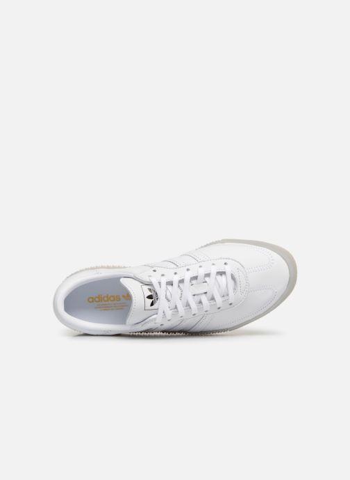 Sneaker adidas originals Sambarose W weiß ansicht von links