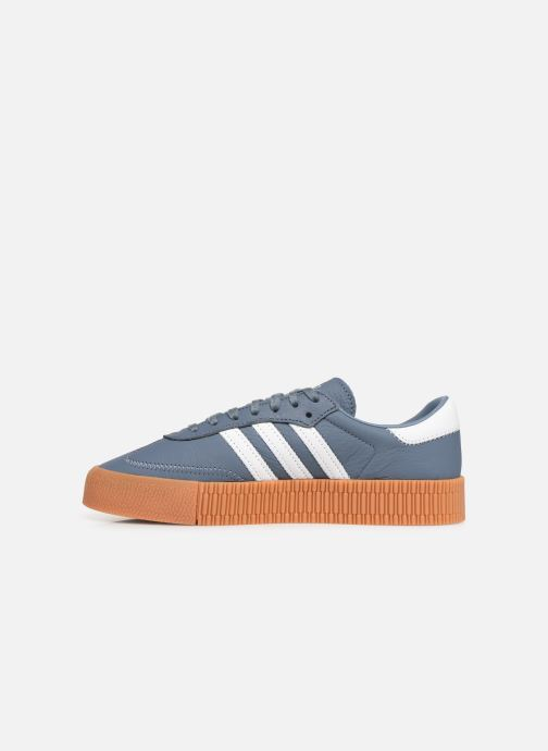 Sneakers adidas originals Sambarose W Azzurro immagine frontale