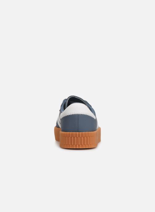 Baskets adidas originals Sambarose W Bleu vue droite
