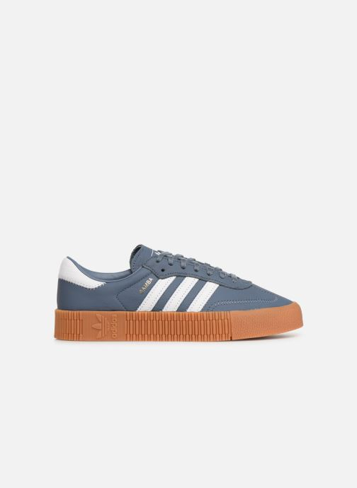 Sneakers adidas originals Sambarose W Azzurro immagine posteriore