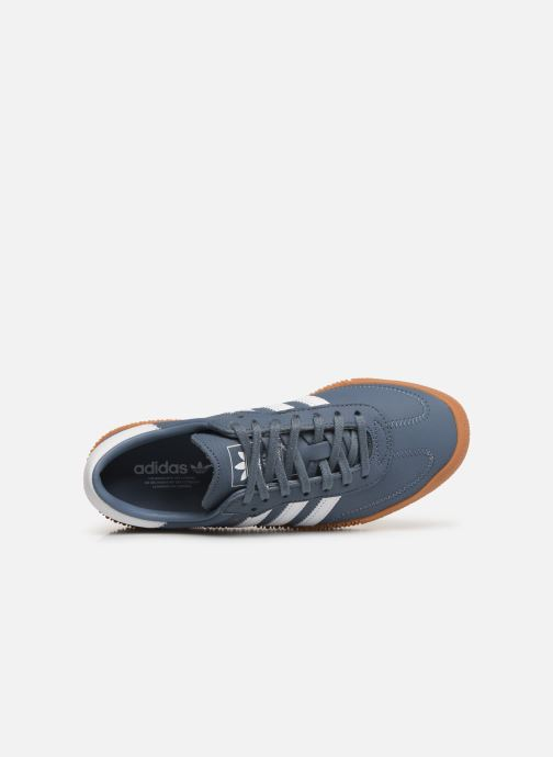 Sneakers adidas originals Sambarose W Azzurro immagine sinistra