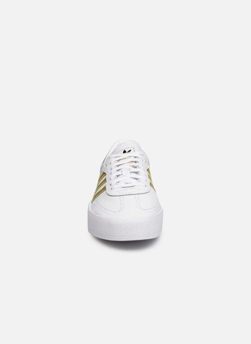 Deportivas adidas originals Sambarose W Blanco vista del modelo