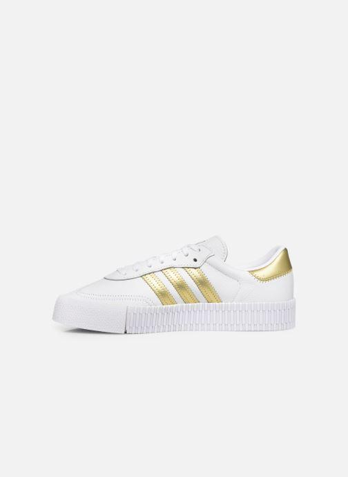 Sneakers adidas originals Sambarose W Wit voorkant
