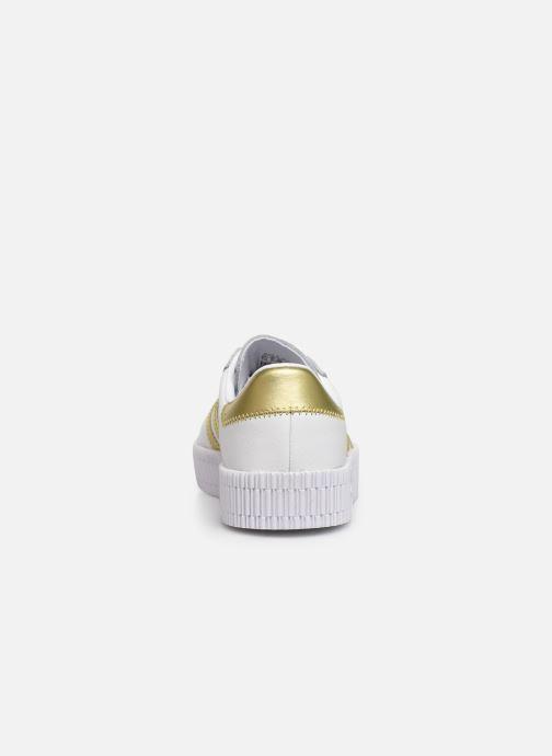 Sneakers adidas originals Sambarose W Wit rechts
