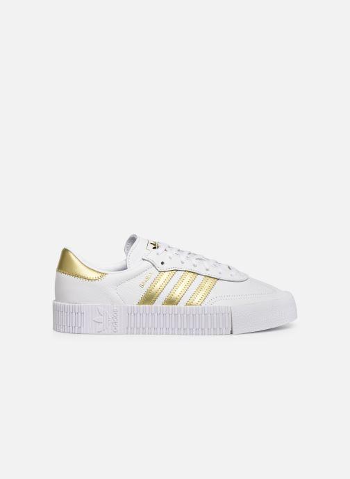 Baskets adidas originals Sambarose W Blanc vue derrière