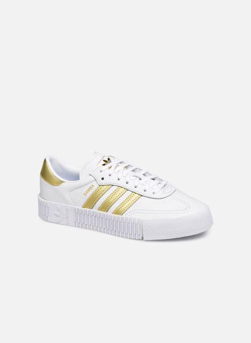 Sneakers adidas originals Sambarose W Wit detail