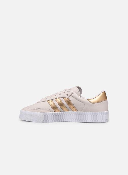 Sneakers adidas originals Sambarose W Roze voorkant