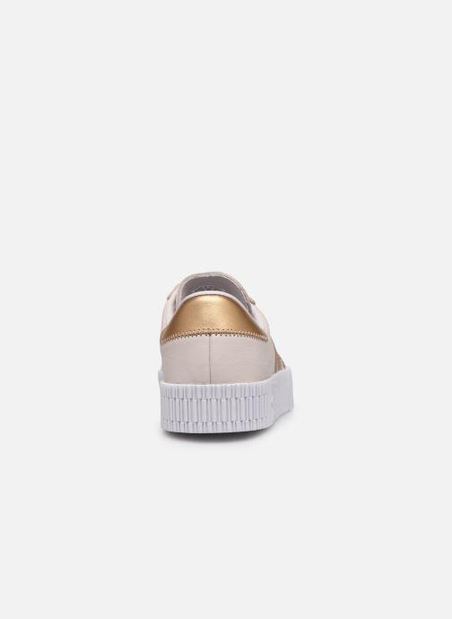 Sneakers adidas originals Sambarose W Roze rechts