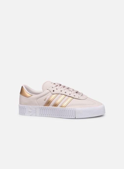 Sneakers adidas originals Sambarose W Roze achterkant