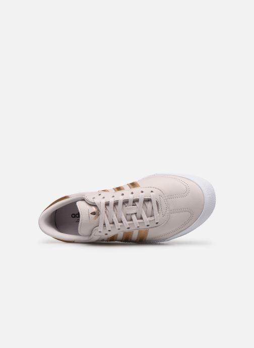 Sneakers adidas originals Sambarose W Pink se fra venstre
