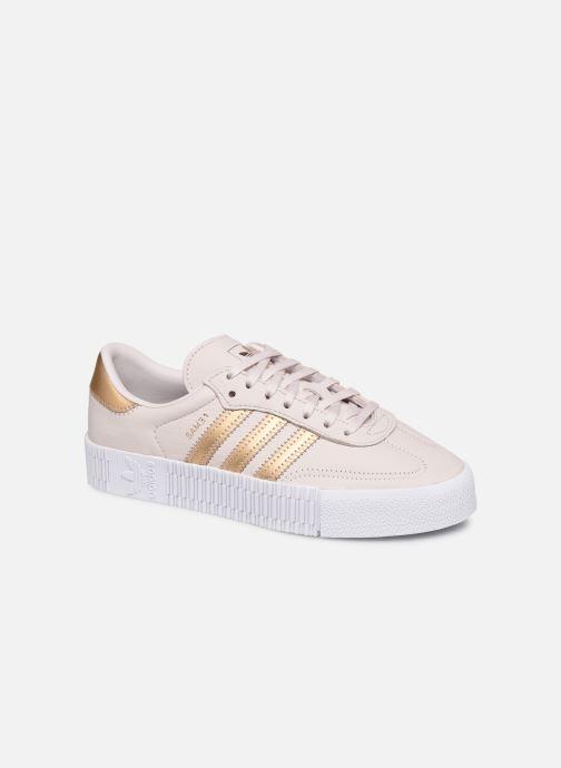 Sneakers adidas originals Sambarose W Pink detaljeret billede af skoene
