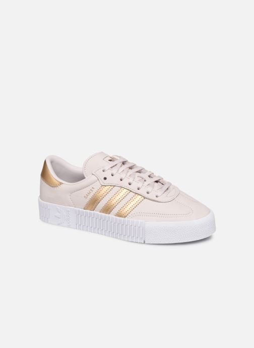 Baskets adidas originals Sambarose W Rose vue détail/paire