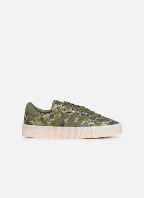 Sneaker adidas originals Sambarose W grün ansicht von hinten