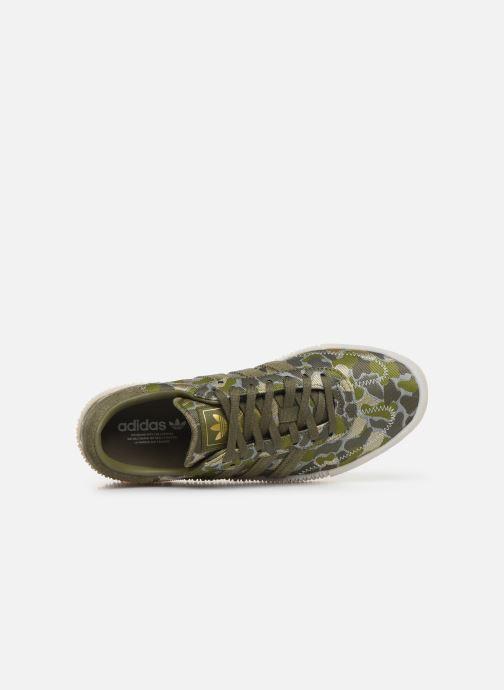 Baskets adidas originals Sambarose W Vert vue gauche