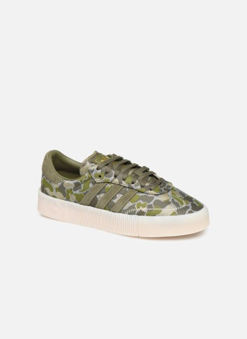 Sneaker adidas originals Sambarose W grün detaillierte ansicht/modell