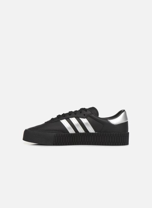 Sneakers adidas originals Sambarose W Zwart voorkant