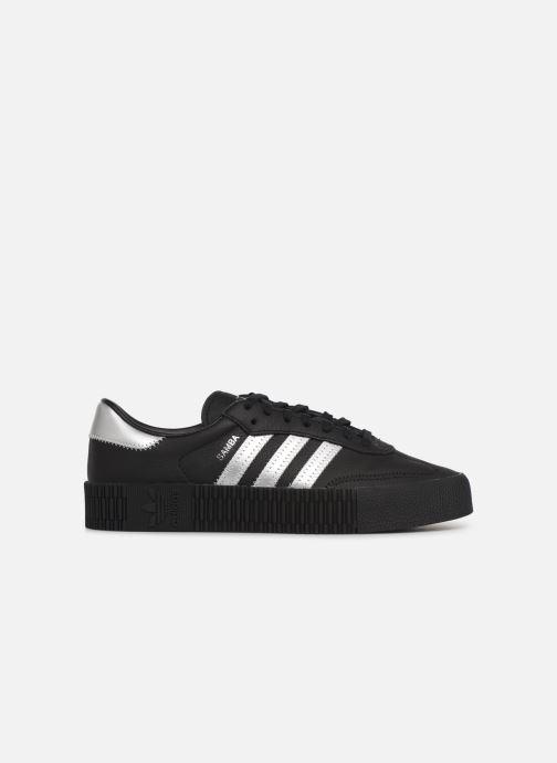 Sneakers adidas originals Sambarose W Zwart achterkant