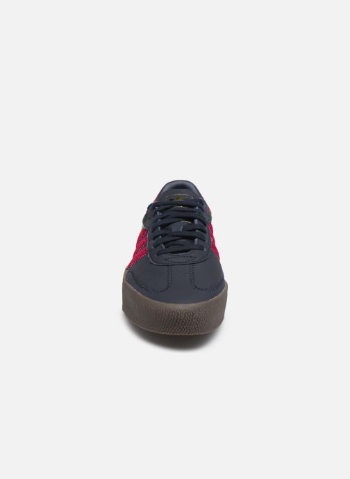 Baskets adidas originals Sambarose W Noir vue portées chaussures