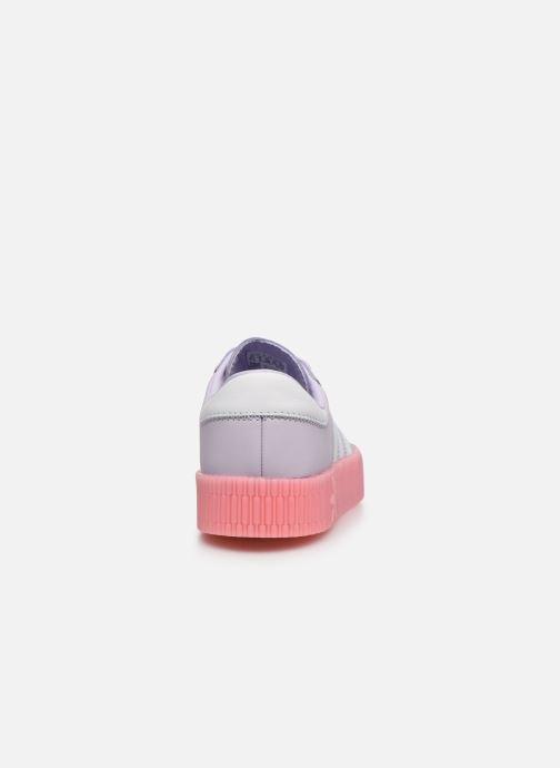 Baskets adidas originals Sambarose W Violet vue droite