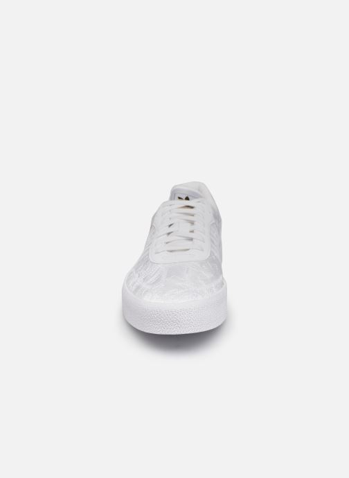 Sneaker adidas originals Sambarose W weiß schuhe getragen