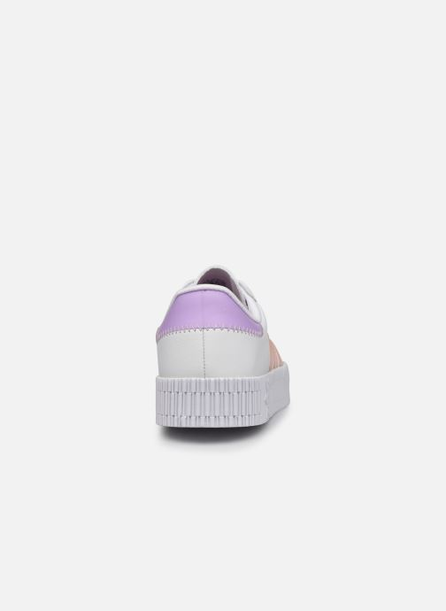 Sneakers adidas originals Sambarose W Bianco immagine destra