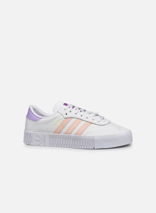 Sneakers adidas originals Sambarose W Bianco immagine posteriore