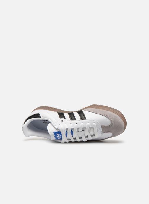 Sneakers adidas originals Samba OG W Bianco immagine sinistra