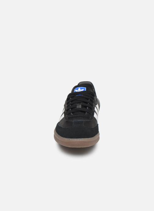 Baskets adidas originals Samba OG W Noir vue portées chaussures