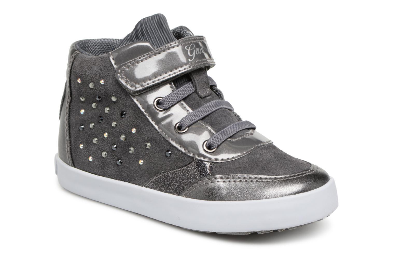 9e0ed5f1459 Sneakers Geox B Kilwi Girl B84D5B Grå detaljeret billede af skoene