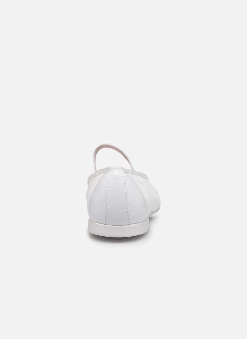 Ballerine Geox JR Plie J8455D Bianco immagine destra
