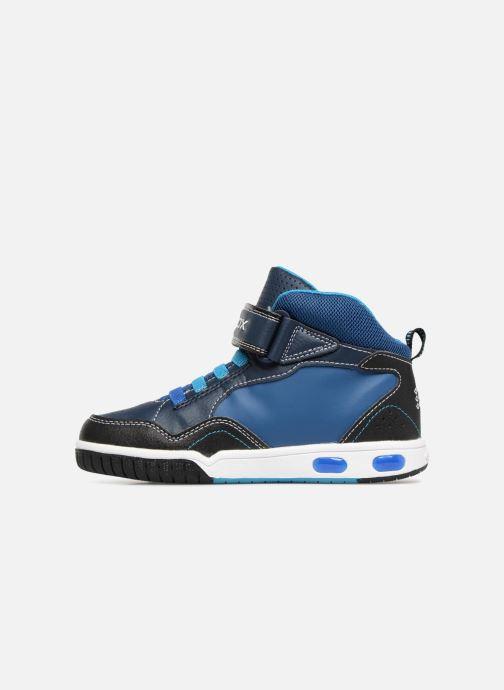 Sneakers Geox JR Gregg J8447C Blauw voorkant