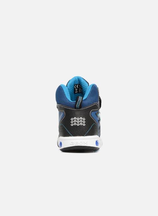Baskets Geox JR Gregg J8447C Bleu vue droite
