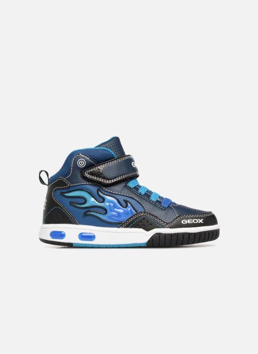 Sneaker Geox JR Gregg J8447C blau ansicht von hinten