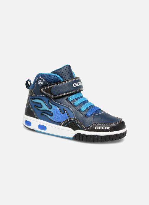 Sneakers Geox JR Gregg J8447C Blauw detail