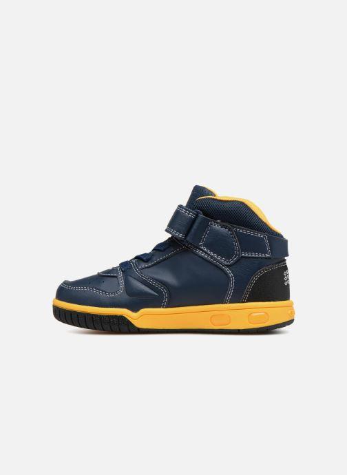 Sneakers Geox JR Gregg J8447B Blauw voorkant