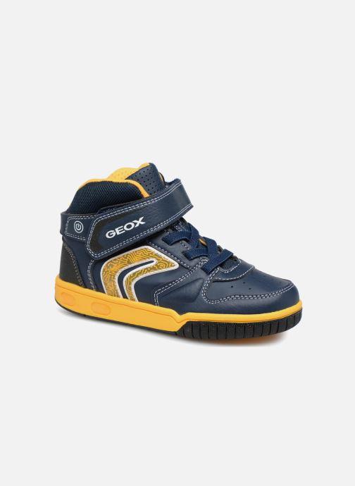 Sneakers Geox JR Gregg J8447B Blauw detail