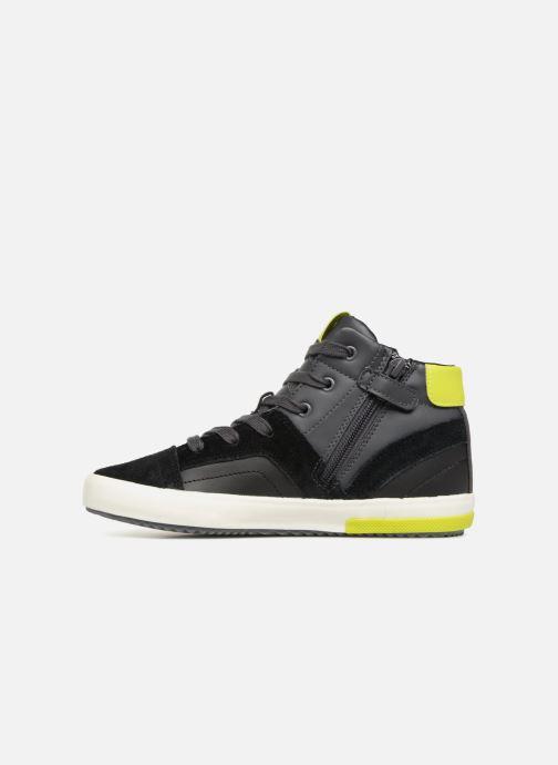 Sneakers Geox J Alonisso Boy J842CA Nero immagine frontale