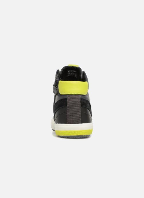 Sneakers Geox J Alonisso Boy J842CA Nero immagine destra